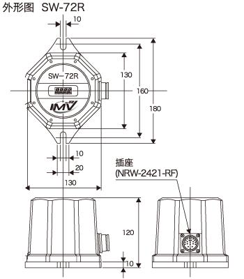 外形图(SW-72R)